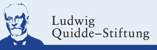 Auf dem Bild ist eine schwarz-weiß Zeichnung von Ludwig Quidde zu sehen.
