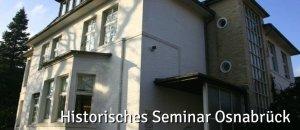 Auf dem Foto ist das Gebäude des historischem Seminars Osnabrück zu sehen.