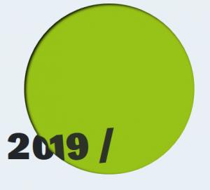 Auf dem Bild ist das Titelbild des Friedensgutachtens 2019 zu sehen.
