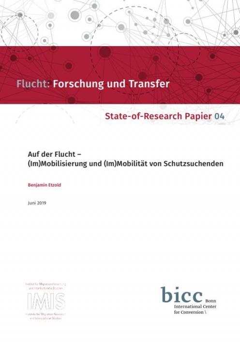 Auf dem Bild ist das Cover eines Berichtes zu sehen.