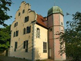 Auf dem Foto ist ein altes Gebäude zu sehen, der Ledenhof in Osnabrück.