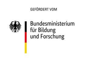 Auf dem Foto ist das Logo des BMBF zu sehen.