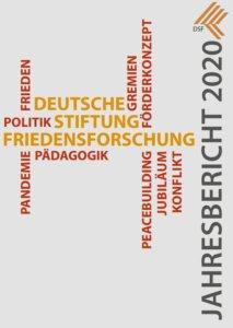 Auf dem Bild ist das Cover des Jahresberichtes zu sehen.